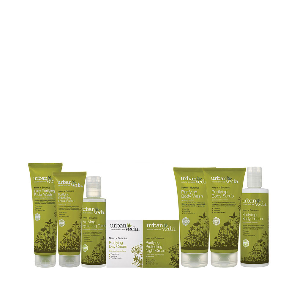 Urban Veda purifying gift set