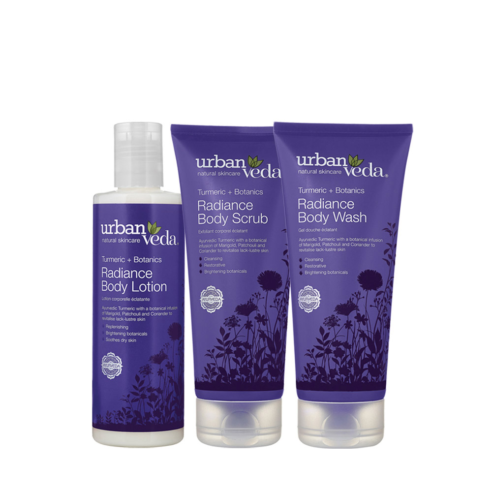 Urban Veda Body ritual gift set