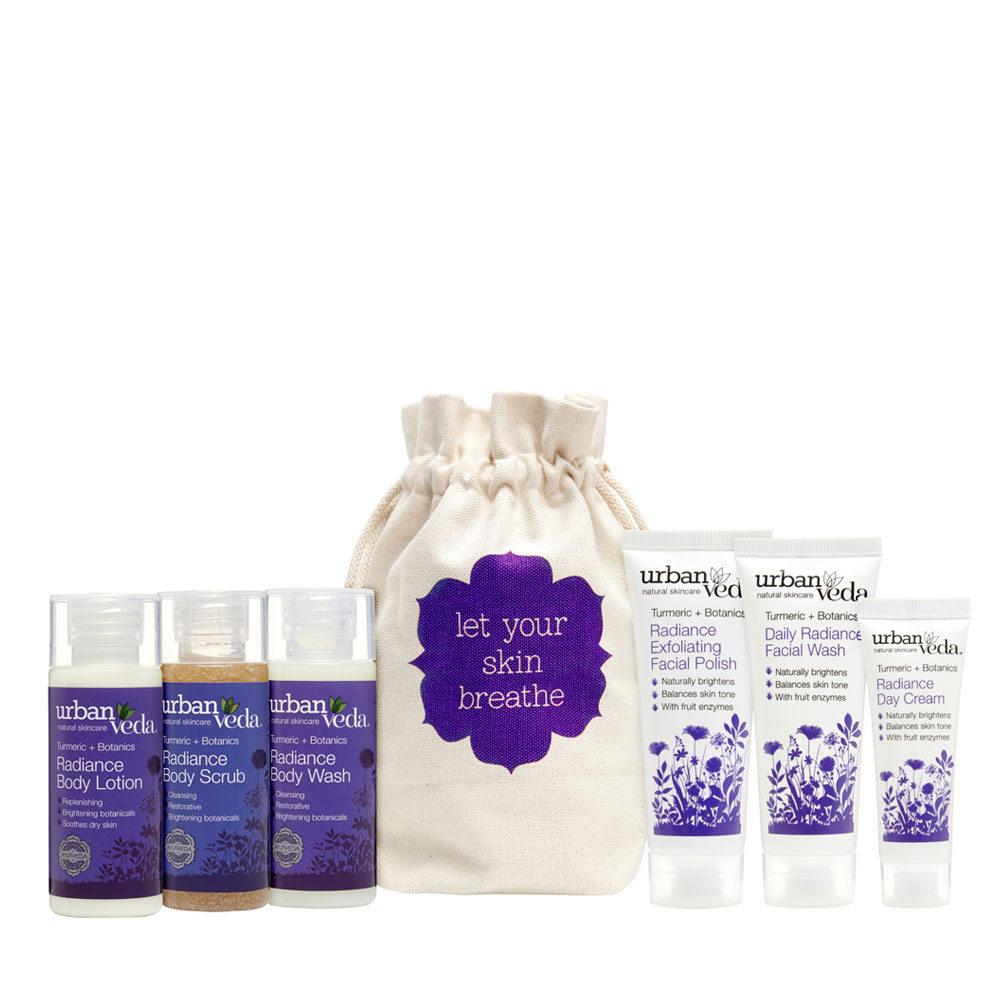 Urban Veda radiance discovery gift set