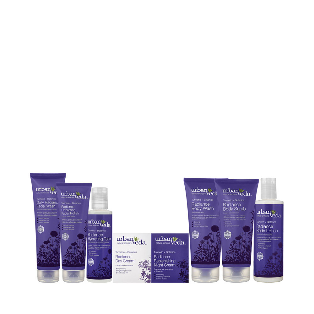 Urban Veda radiance gift set