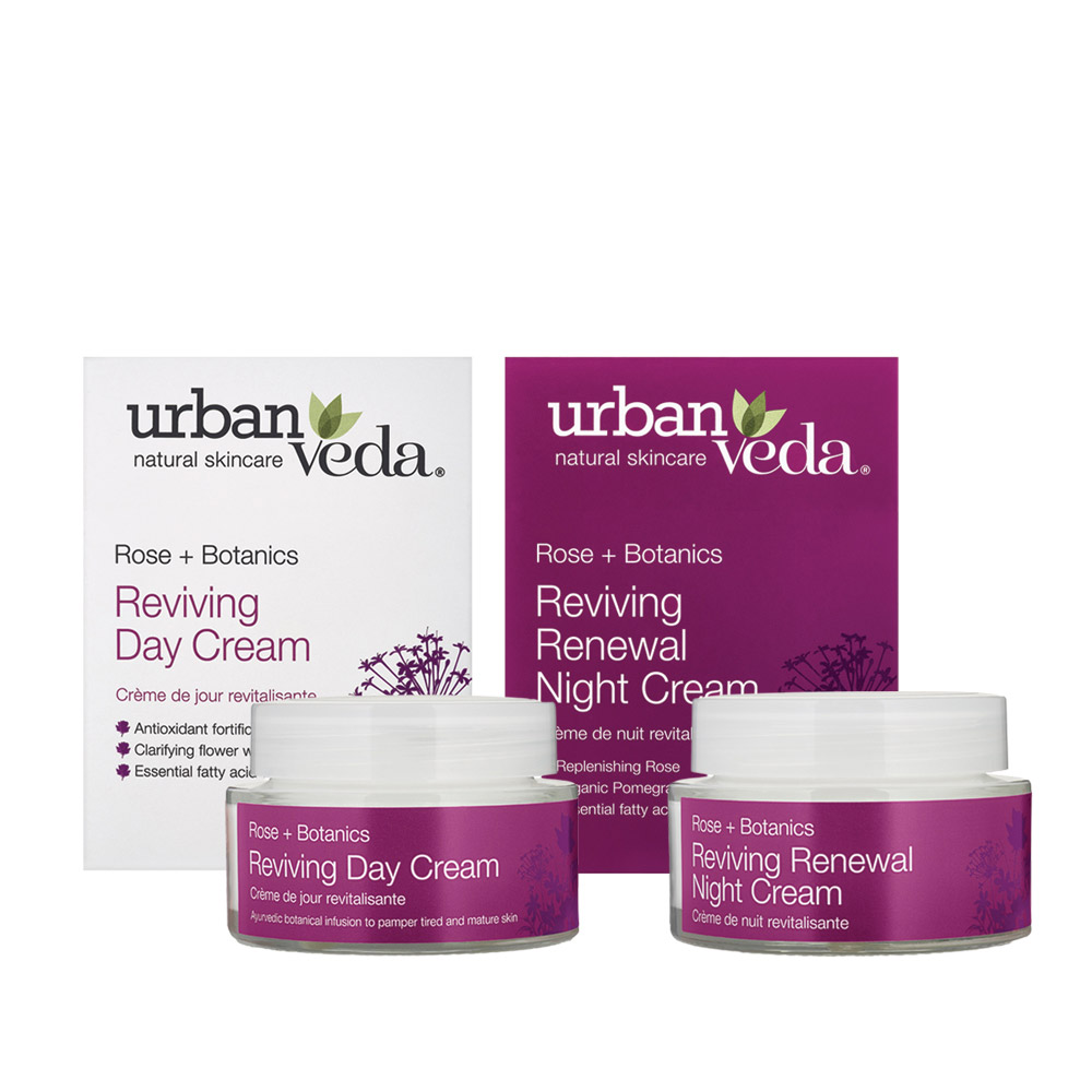 Urban Veda reviving cream duo gift set