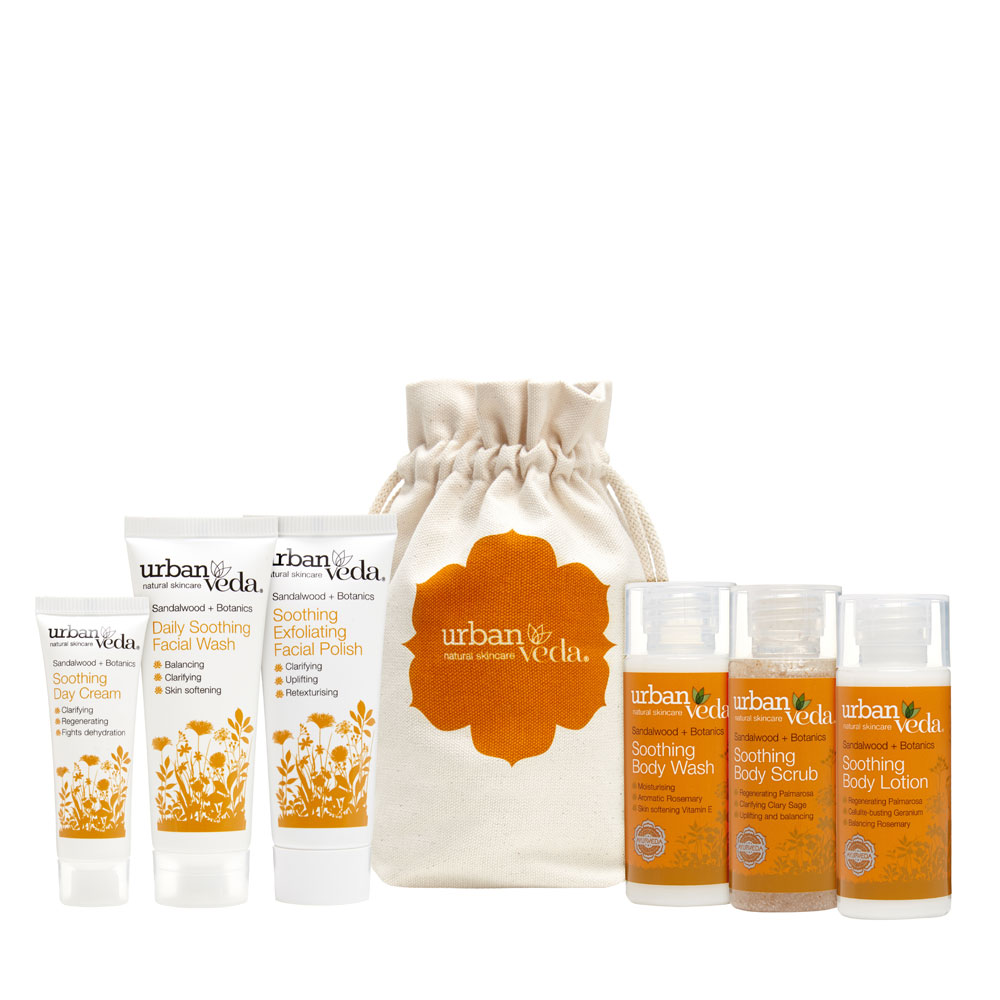Urban Veda soothing complete discovery gift set
