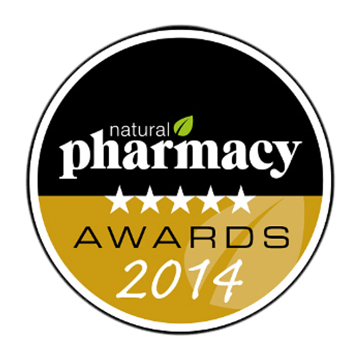 Natural Pharmacy 2014 beauty award Urban Veda