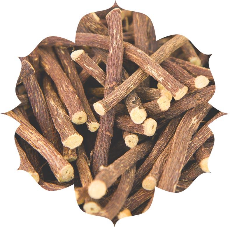 Liquorice root ingredient in skincare