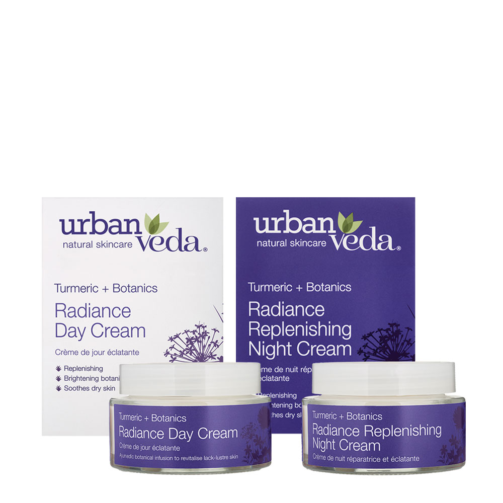 Urban Veda radiance duo cream gift set