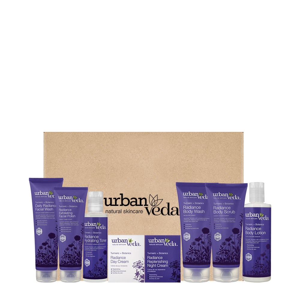 Urban Veda Radiance Turmeric Full Gift Set