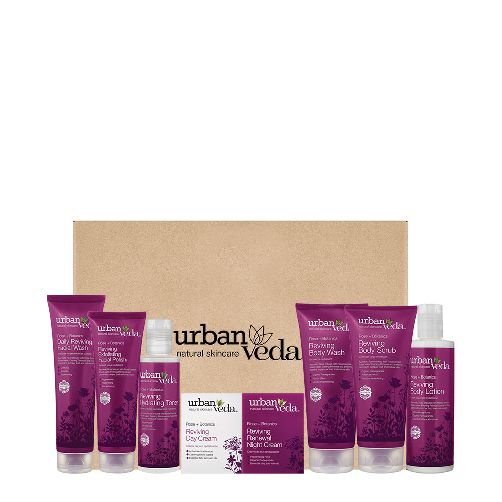 Urban Veda Reviving Rose Full Gift Set