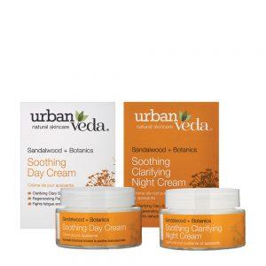 Urban Veda Soothing cream duo gift set