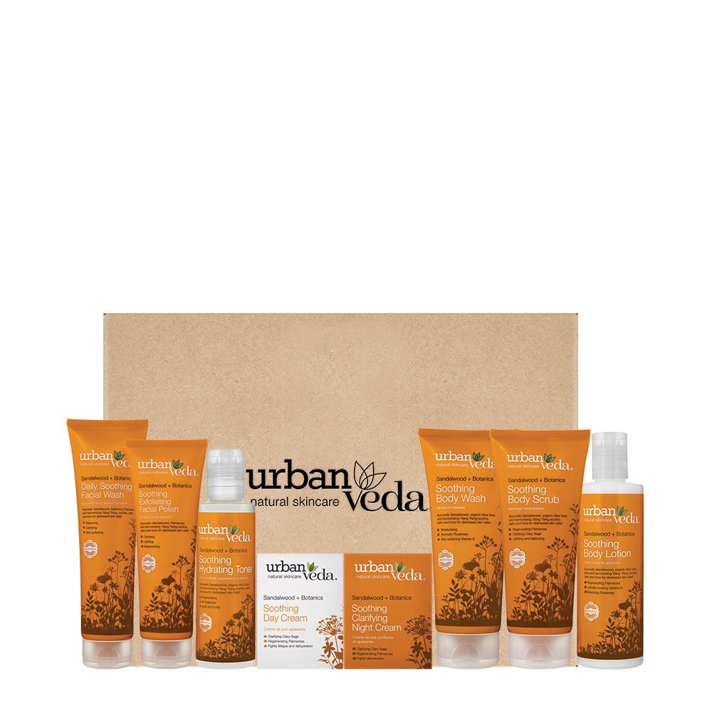 Urban Veda Soothing Sandalwood Full Gift Set