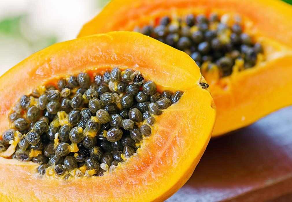 Papaya in skincare