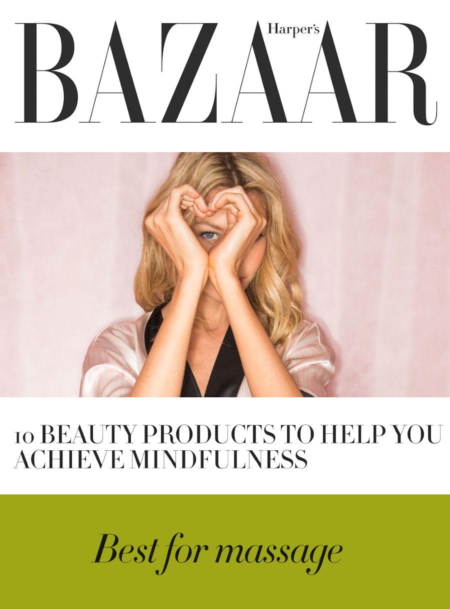 Harper's Bazaar Online Urban Veda feature