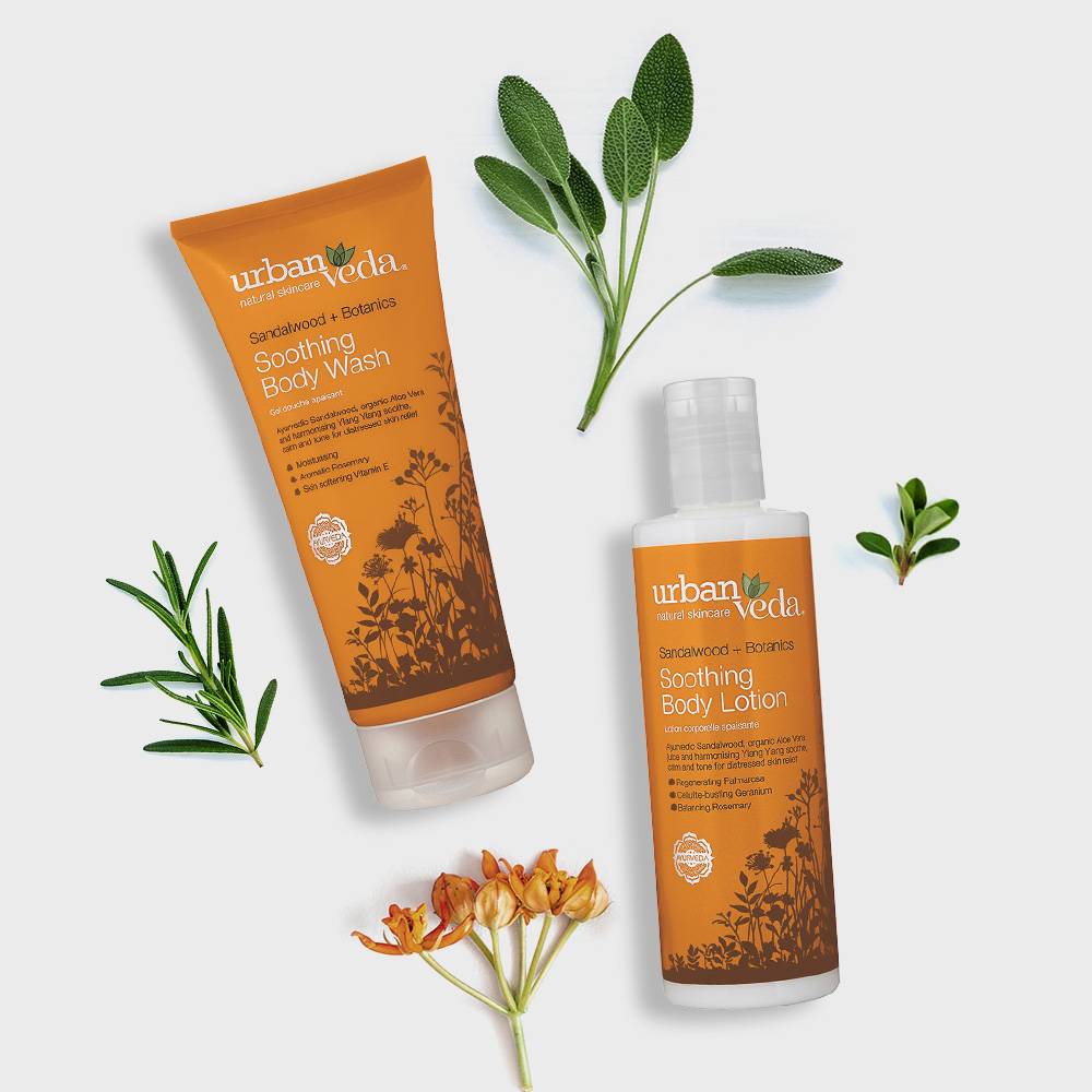 Image of Urban Veda Body Giftsets Body Ritual Soothing