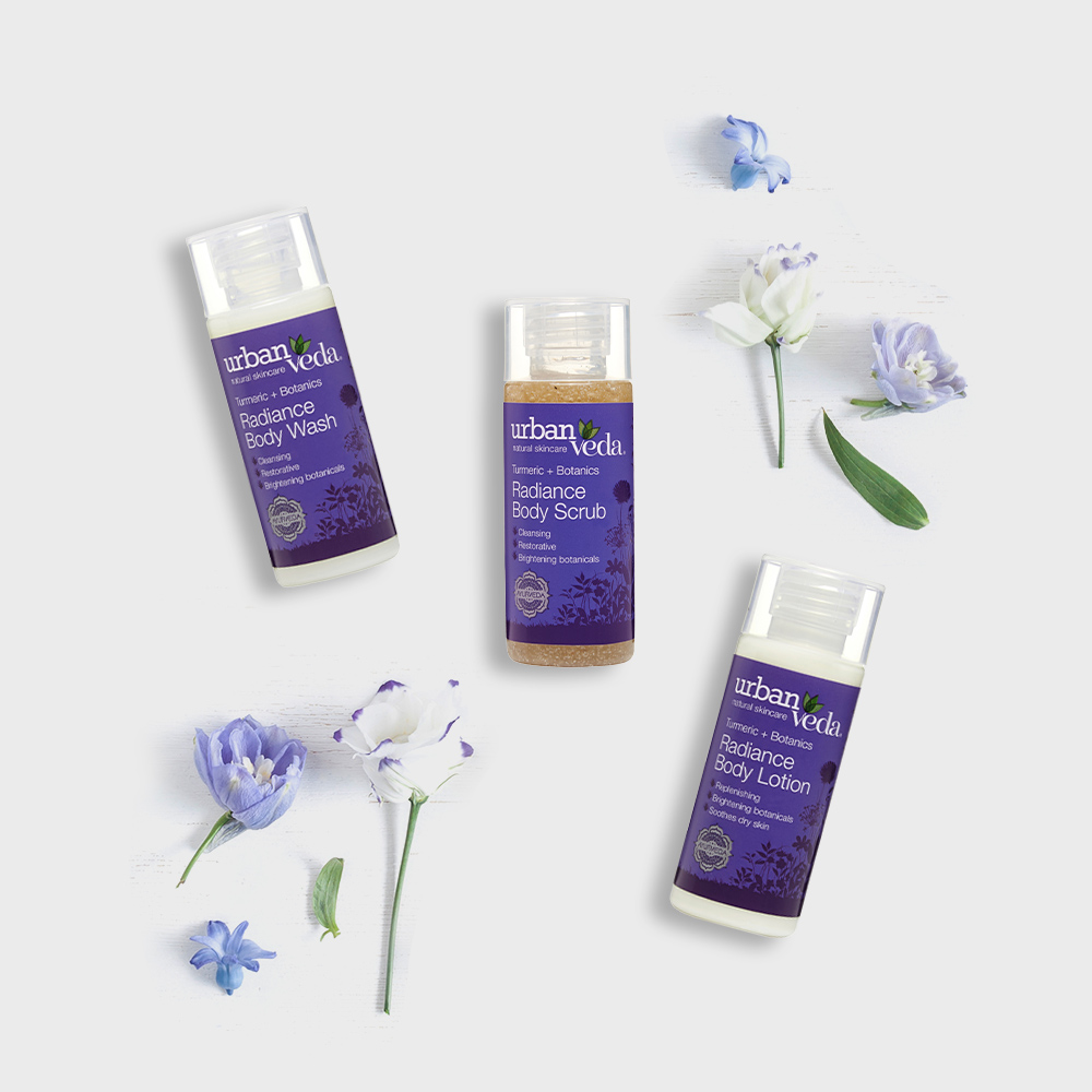 Image of Urban Veda Body Giftsets Body Ritual Travel Radiance