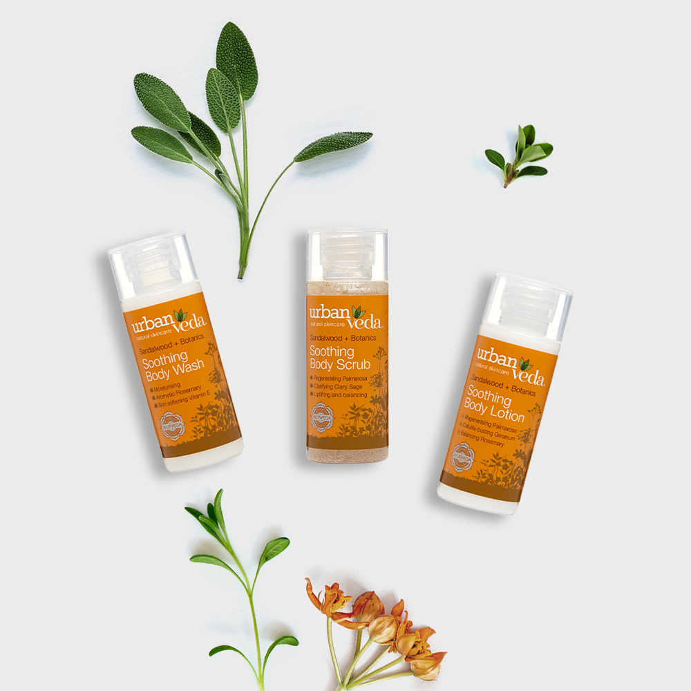 Image of Urban Veda Body Giftsets Body Ritual Travel Soothing
