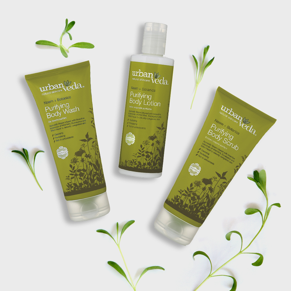 Image of Urban Veda Body Giftsets Body Ritual Purifying