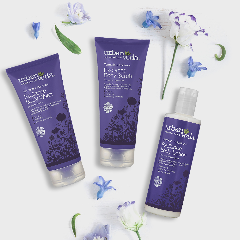 Image of Urban Veda Body Giftsets Body Facial Travel Radiance