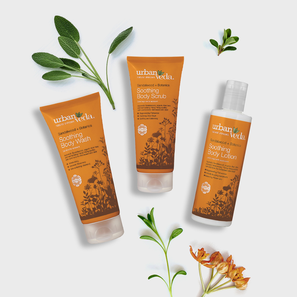 Image of Urban Veda Body Giftsets Body Facial Travel Soothing