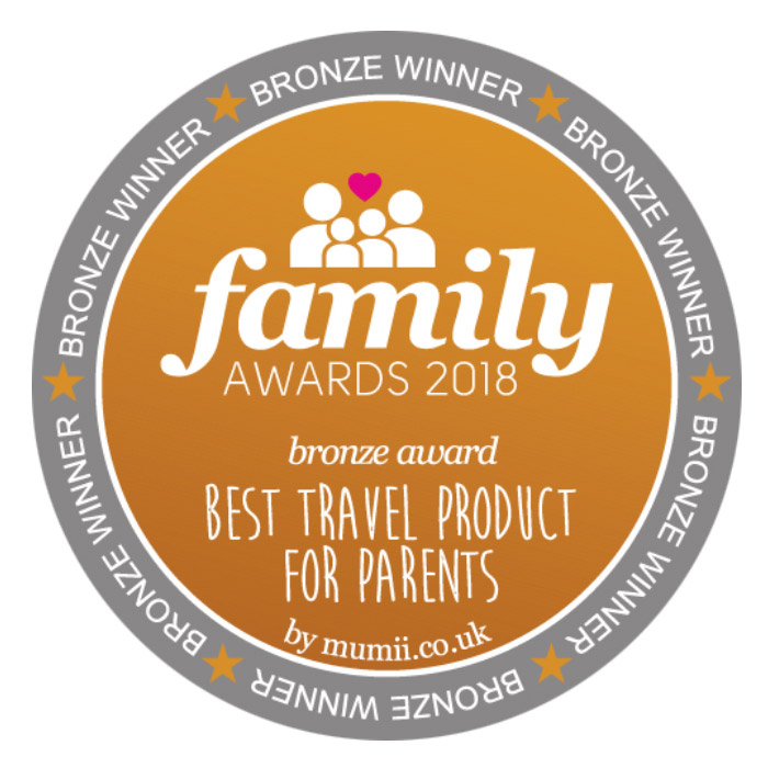 Family Award 2018 best travel product for parents