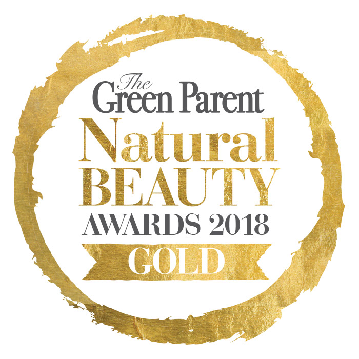 green parent natural beauty gold