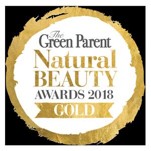 green parent natural beauty awards 2018 gold