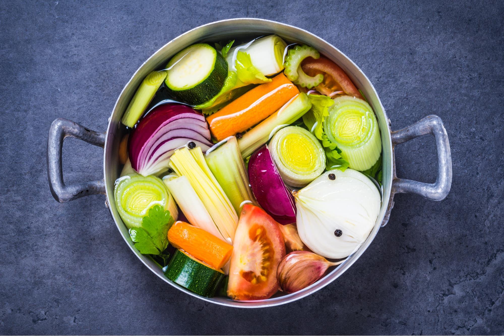 healing vegetable broth