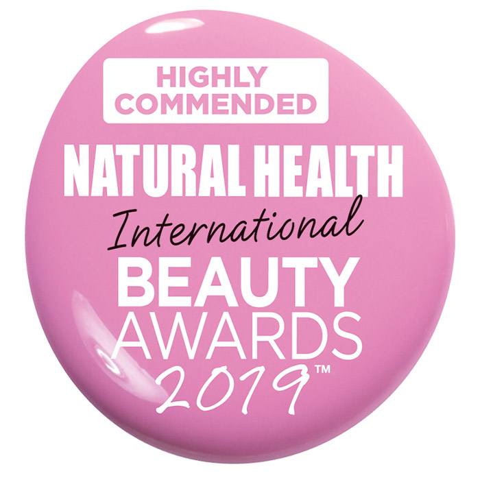 highly commended natural health international beauty awards