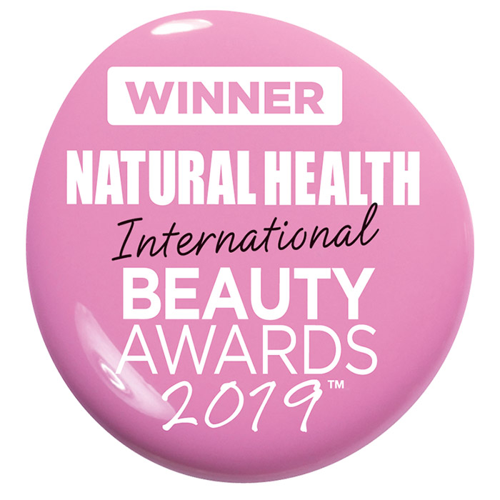 winner natural health international beauty awards 2019