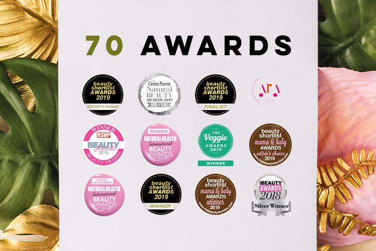 70 Awards!