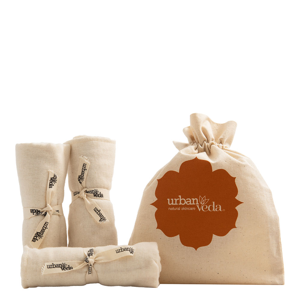 Image of Urban Veda Muslin Cloths Gifts 3