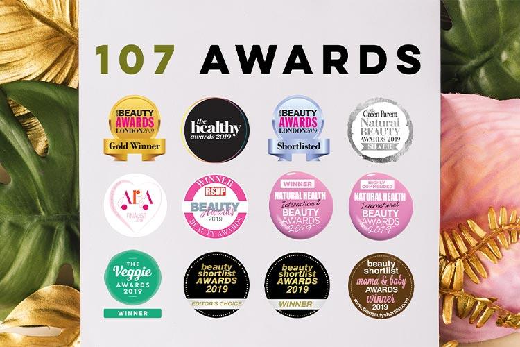 107 Awards!