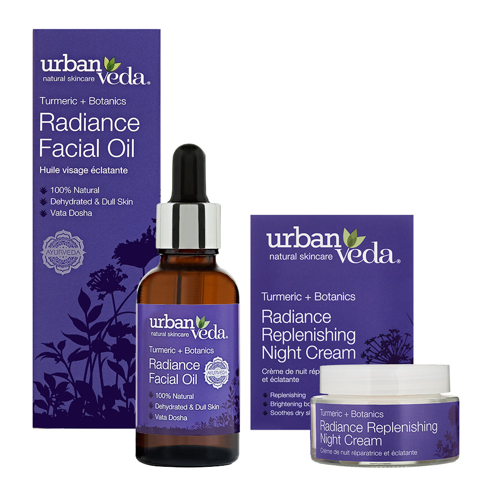Urban Veda Product Bundle Night Time Self Care Radiance