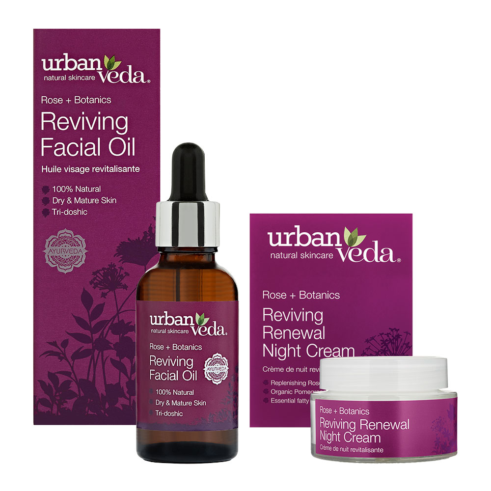 Urban Veda Product Bundle Night Time Self Care Reviving
