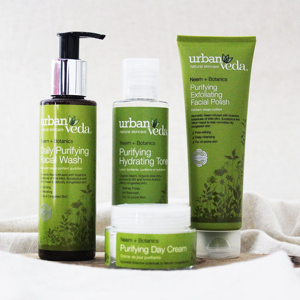 Urban Veda Product Bundle Skincare Essentials
