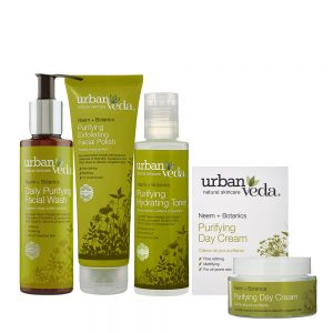 Image of Urban Veda Product Bundles Skincare Ritual Essentials Purifying