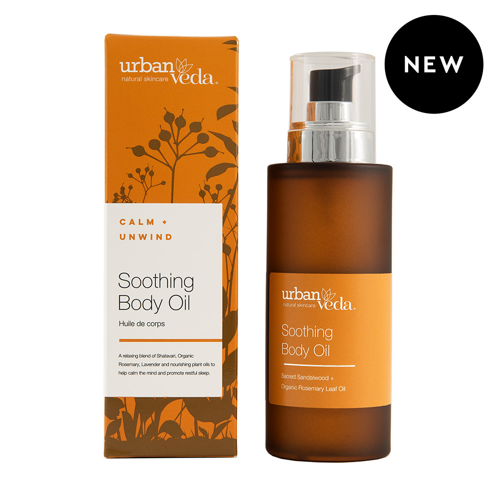 Urban Veda Soothing Body Oil 100ml