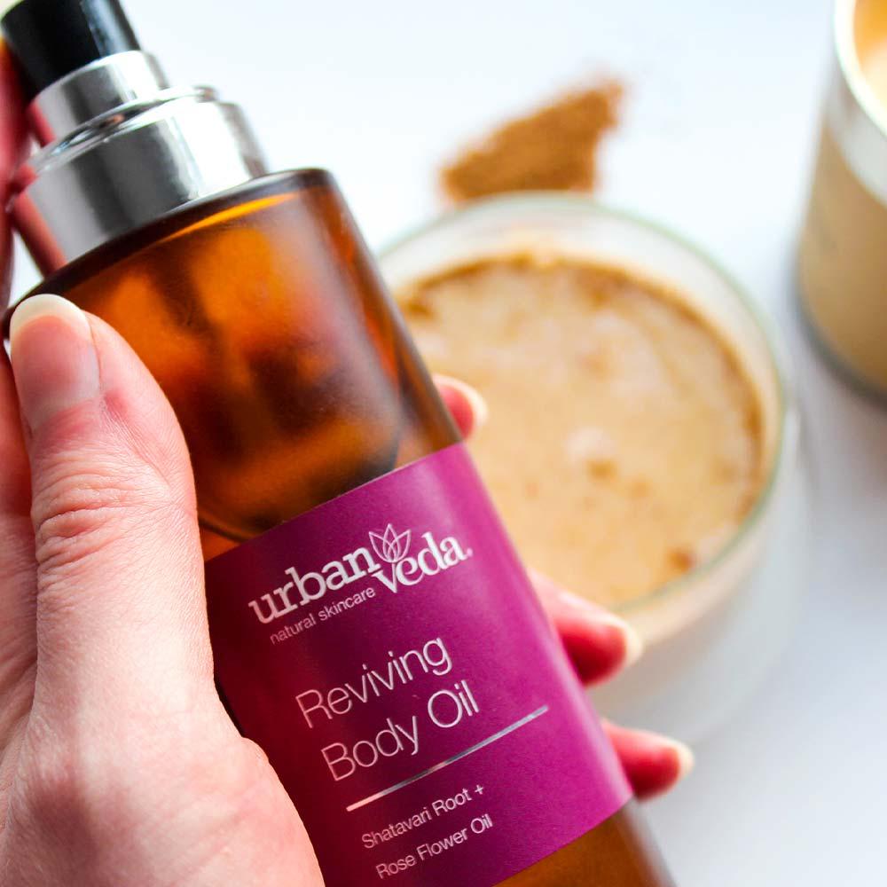 Urban Veda Reviving Body Oil 100ml 2
