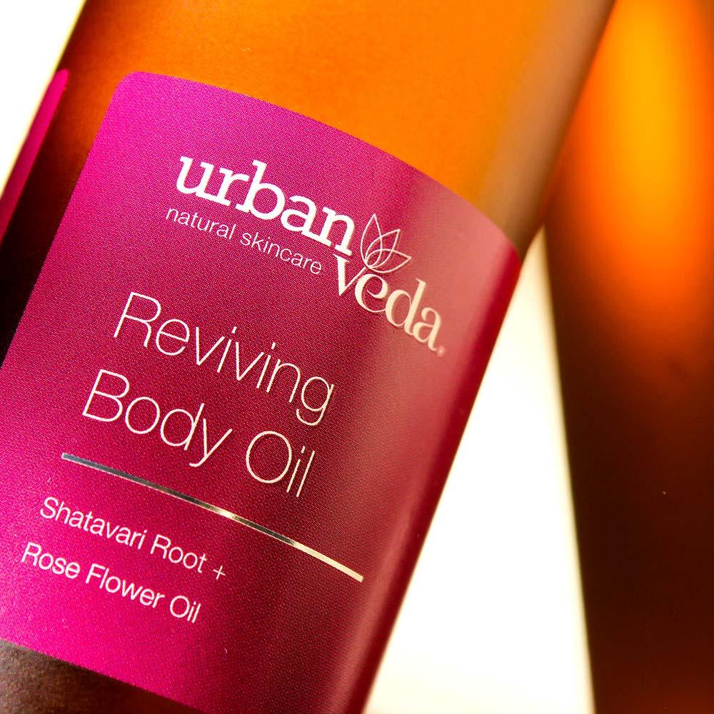 Urban Veda Reviving Body Oil 100ml 3