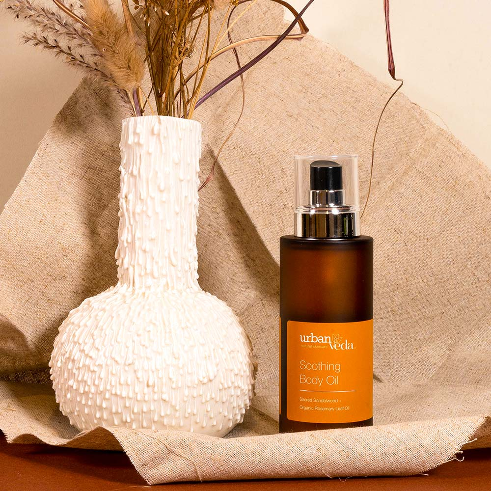 Image of Urban Veda Soothing Body Oil 100ml 7