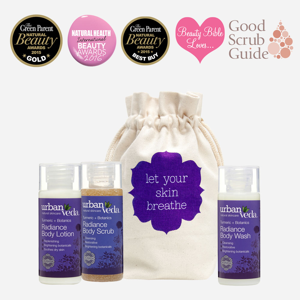 Radiance Body Deluxe Travel Set