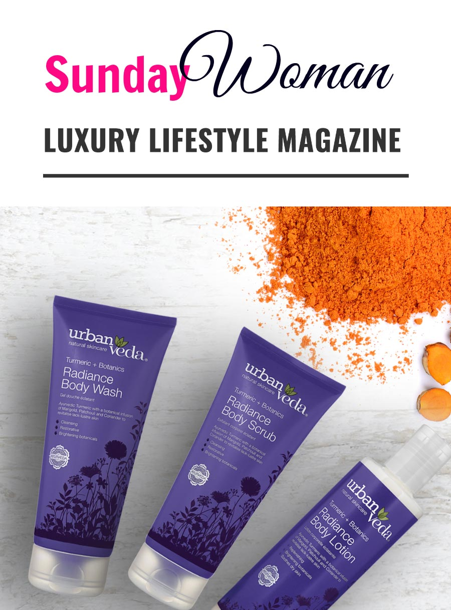 Sunday Woman magazine with urban veda review