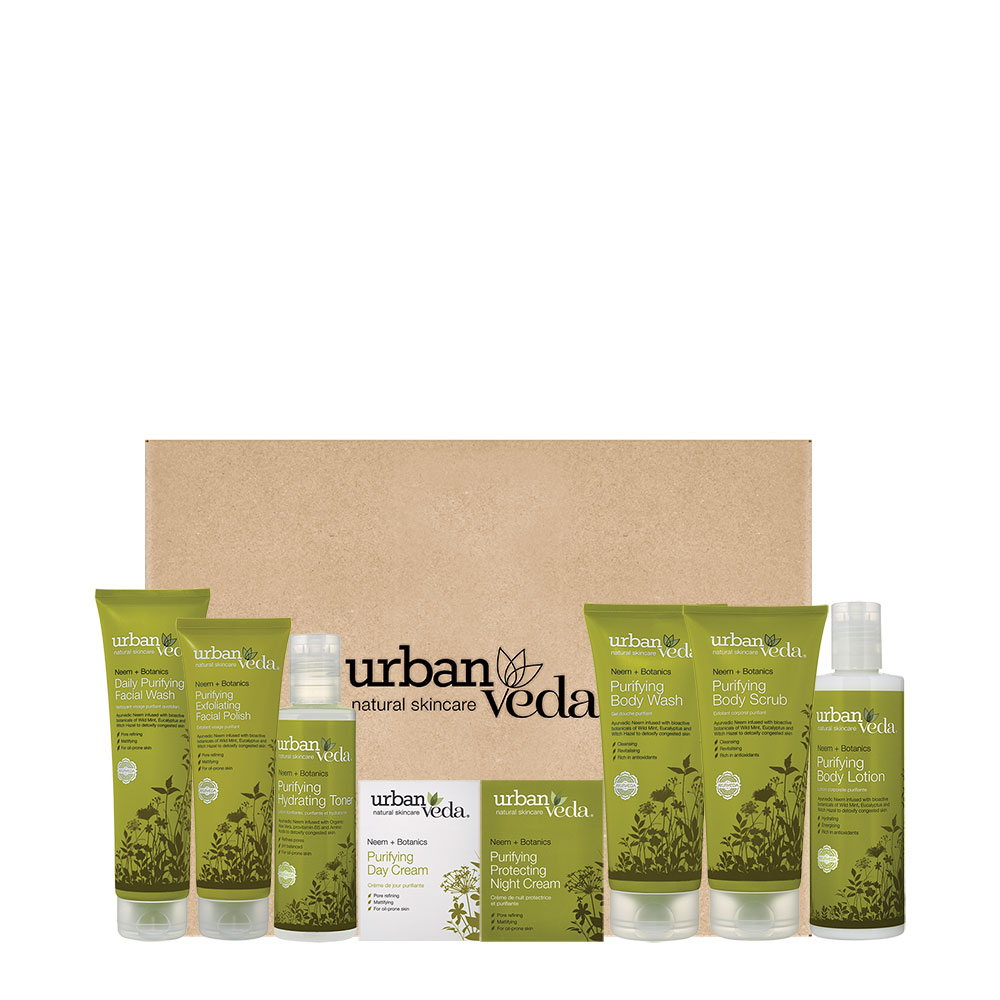 Urban Veda Purifying Neem Full Gift Set