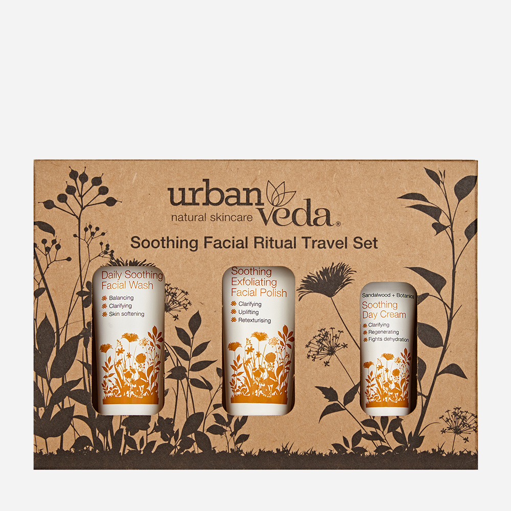 Soothing Facial Ritual Travel Set